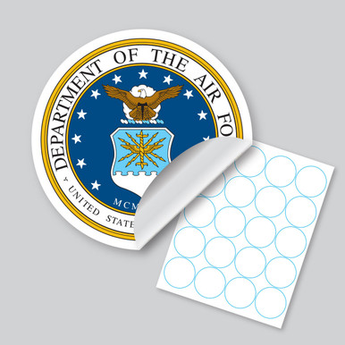 """2"""" Circle Labels - 20 up on an 8.5 X 11 sheet"""