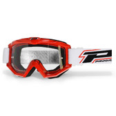 Progrip Red 3201 Raceline Goggles