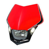 "Racetech ""LED"" V-Face Red Headlight"