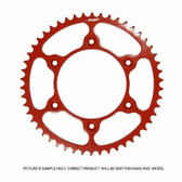 RHK Red 52t Husqvarna 1990-13 Super Lite steel rear sprocket