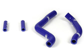 Samco Kx125 2005-12 Blue Silcone Radiator Hose Kit