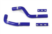 Samco YZ125 2002-17 Blue Radiator Hose Kit