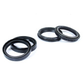 fork seal and wiper kit CR250	1997-2007 	CRF250 R	2004-2009 	CRF250 X	2004-2017 	CRF450 R	2002-2008 	CRF450 X	2005-2017 	KXF250	2006-2012 	RM125	2001-2011 	RM250	2004-2012 	RMX450	2010-2019 	RMZ250	2007-2012 	RMZ450	2005-2012