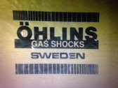 HUSQVARNA TWIN SHOCK OHLINS DECALS TO SUIT 1979-82