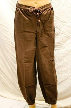 Corded Pants, Dark Brown