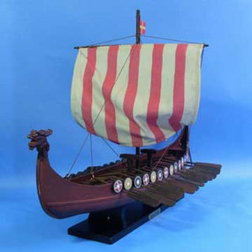 Drakkar Viking Ship Model 24""