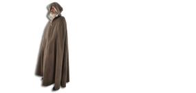 Hooded Wool Cloak