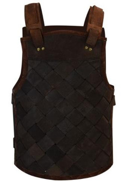 Viking Leather Armour Brown