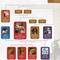 Norse Mythology Family Tree Poster Close Up
