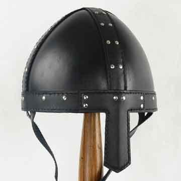 Leather Spangenhelm