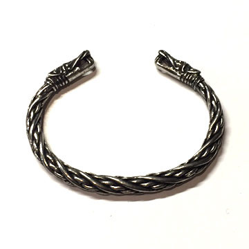 Small Dragon Wrist Torc