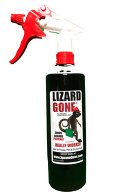 Lizard GONE 16oz  Bottle w/Sprayer & 10 Pack Scent Strips