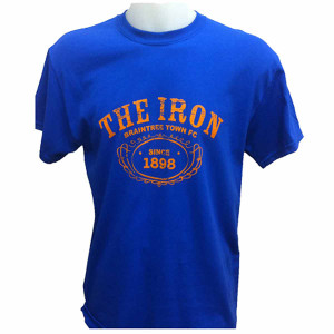 Braintree Town T-Shirt by Ascar. Available now from Andreas Carter Sports.