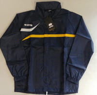 Vancouver Rain Jacket JR, by Errea. Available now from Andreas Carter Sports.