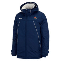 AFC Sudbury, Bench Coat by Errea. Available now from Andreas Carter Sports.