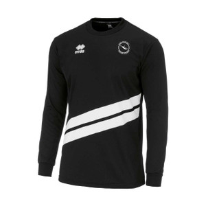 Carl Pentney, Junior Training Top 2018/19 by Errea. Available now from Andreas Carter Sports.