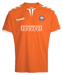 Braintree Town FC, Kids Home Shirt 2018/19 by hummel. Available now from Andreas Carter Sports.