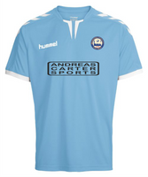 Braintree Town FC, Kids Away Shirt 2018/19 by hummel. Available now from Andreas Carter Sports.