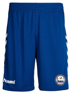Braintree Town FC, Home Shorts 2018/19 by hummel. Available now from Andreas Carter Sports.
