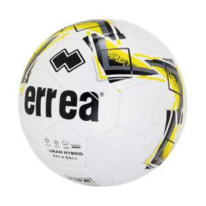 Errea, Uran Hybrid Futsal Ball by Errea. Available now from Andreas Carter Sports.