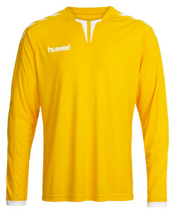 hummel, Long Sleeve Core Poly Jersey by hummel. Available now from Andreas Carter Sports.