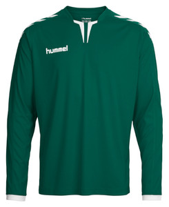 hummel, Core LS Shirt by hummel. Available now from Andreas Carter Sports.