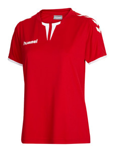 hummel, Core Women Shirt by hummel. Available now from Andreas Carter Sports.
