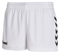 hummel, Core Womens Shorts by hummel. Available now from Andreas Carter Sports.