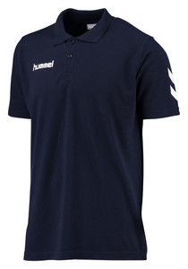 hummel, Core Cotton Polo by hummel. Available now from Andreas Carter Sports.