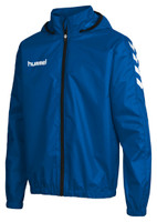 hummel, Core Spray Jacket by hummel. Available now from Andreas Carter Sports.