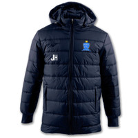 Braintree Futsal Club, Junior Winter Jacket by JOMA. Available now from Andreas Carter Sports.