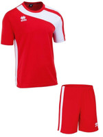 Errea, Bolton/Bonn Red/White Junior Bundle by Errea. Available now from Andreas Carter Sports.