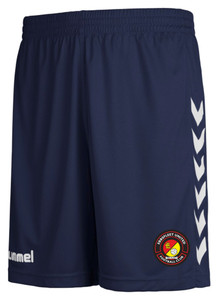 EUFC, Junior Away Match Short by hummel. Available now from Andreas Carter Sports.