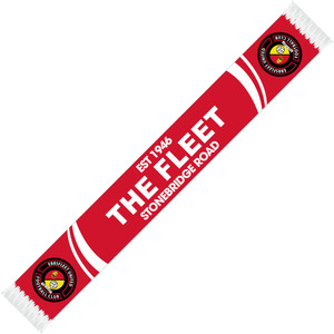 EUFC, The Fleet Scarf by ASCAR. Available now from Andreas Carter Sports.