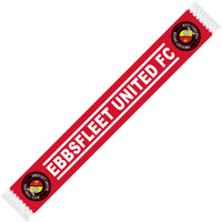 EUFC, Supoorters Scarf by Ascar. Available now from Andreas Carter Sports.
