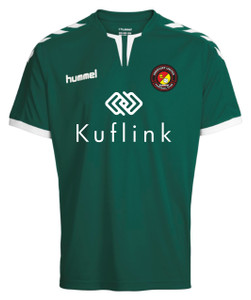 EUFC, Junior Home Goalkeeper Shirt by hummel. Available now from Andreas Carter Sports.