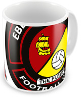EUFC, Twin Crest Mug by Ascar. Available now from Andreas Carter Sports.