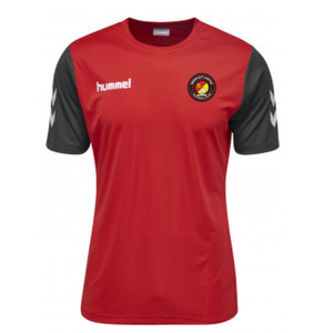 EUFC, Junior Training Tee by hummel. Available now from Andreas Carter Sports.