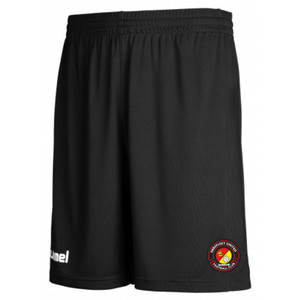 EUFC, Training Short by hummel. Available now from Andreas Carter Sports.