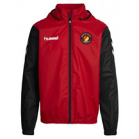 EUFC, Rain Jacket by hummel. Available now from Andreas Carter Sports.