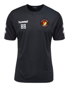 EUFC, Junior Academy Training Tee by hummel. Available now from Andreas Carter Sports.