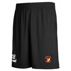 EUFC, Academy Training Short by hummel. Available now from Andreas Carter Sports.