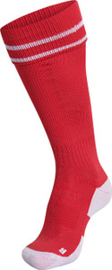 EUFC, Junior Academy Match Socks by hummel. Available now from Andreas Carter Sports.