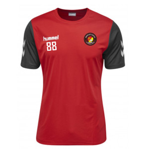 EUFC, Scholars Travel Tee by hummel. Available now from Andreas Carter Sports.