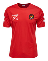 EUFC, Scholars Training Tee by hummel. Available now from Andreas Carter Sports.