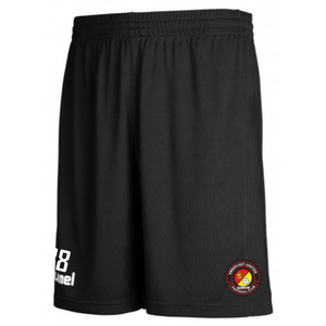 EUFC, Scholars Training Shorts by hummel. Available now from Andreas Carter Sports.