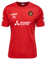 EUFC, Coaches Training Tee by hummel. Available now from Andreas Carter Sports.