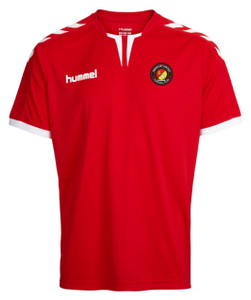EUFC, Academy Junior Match Shirt by hummel. Available now from Andreas Carter Sports.