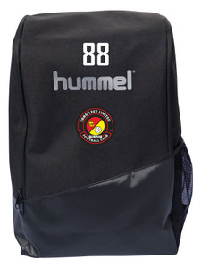 EUFC, Academy Travel Ruck Sack by hummel. Available now from Andreas Carter Sports.