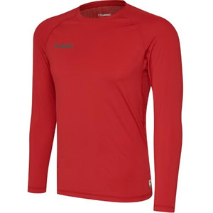 EUFC, Performance Long Sleeve Baselayer by hummel. Available now from Andreas Carter Sports.